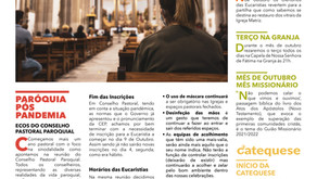 Boletim Igreja Nova 2021-10-04