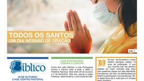 Boletim Igreja Nova 2020-10-25