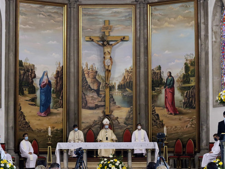 Arcebispo pediu uma Igreja renovada