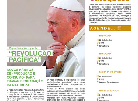 Boletim Igreja Nova 2020-09-20