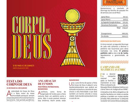 Boletim Igreja Nova 2021-05-16