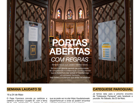 Boletim Igreja Nova 2020-05-17