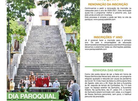 Boletim Igreja Nova 2020-08-23