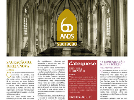 Boletim Igreja Nova 2021-02-28