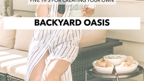 FIVE WAYS TO CREATE A BACKYARD OASIS