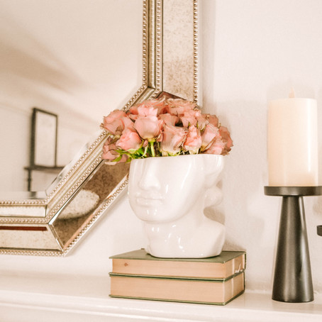 HOME | MANTEL STYLING TIPS & TRICKS