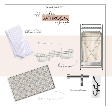 HOME | AFFORDABLE BATHROOM REFRESH