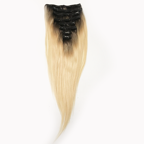 CLIP-INS BLONDE 1/B ROOT STRAIGHT