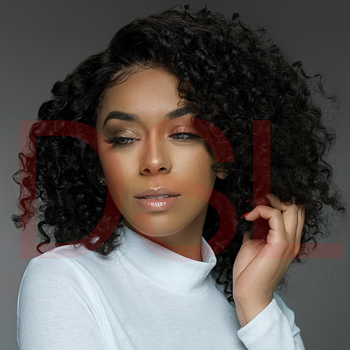 FULL LACE WIG - INDIAN CURLY 150% DENSITY