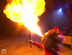 Rob Crites Fire Breath NBC