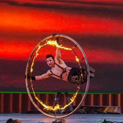 Fire Cyr Wheel 2
