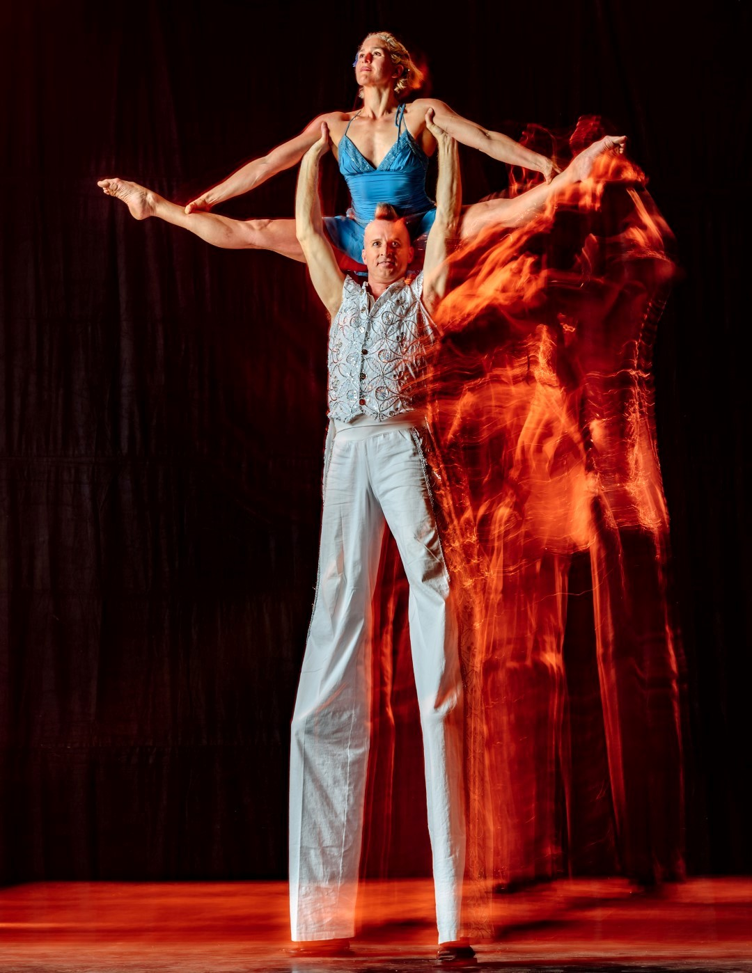 Stilt-Acro-Duo Rob and Karyne