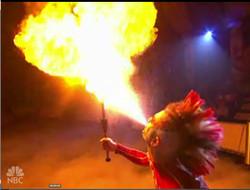 Rob Breathing Fire on NBC