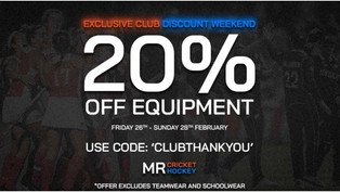 20% Discount for Chippenham Players this weekend