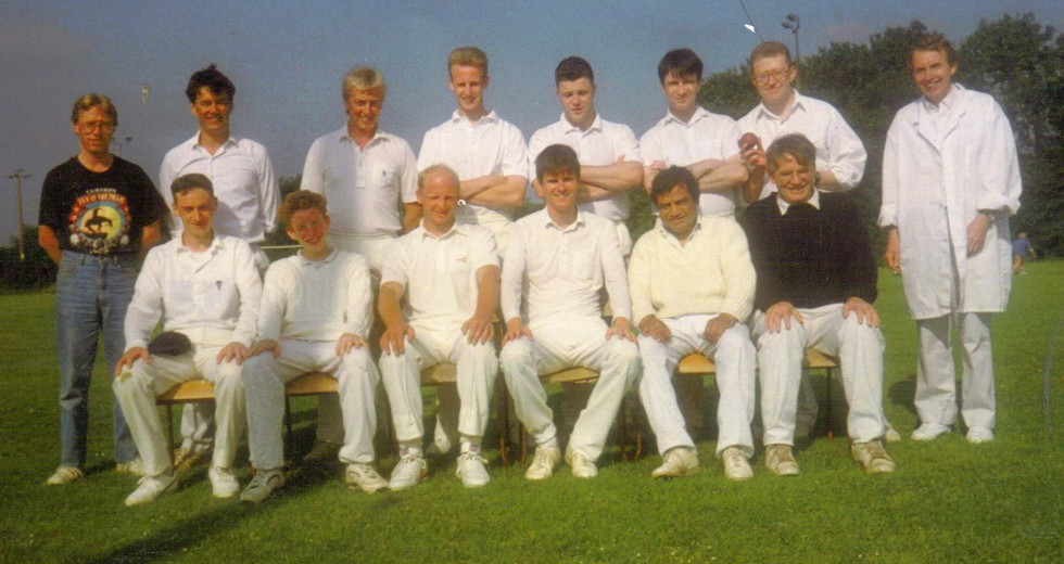 June 1993 Team pic at 2nd match.jpg