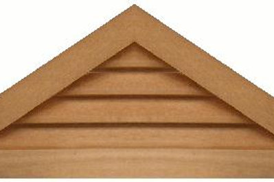 "GVP836 - 36"" base 8/12 pitch Triangle Gable Vent"