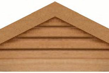 "GVP654 - 54"" base 6/12 pitch Triangle Gable Vent"