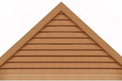 "GVP1172 - 72"" base 11/12 pitch Triangle Gable Vent"
