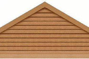 "GVP7120 - 120"" base 7/12 pitch Triangle Gable Vent"