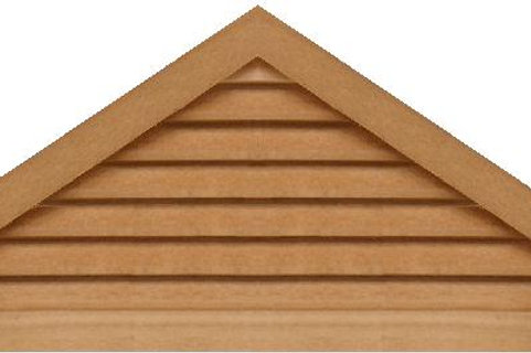 "GVP872 - 72"" base 8/12 pitch Triangle Gable Vent"