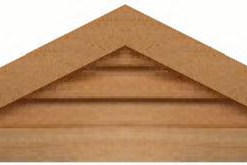 "GVP636 - 36"" base 6/12 pitch Triangle Gable Vent"