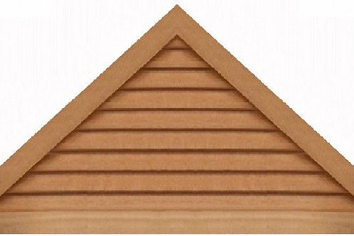 "GVP1160 - 60"" base 11/12 pitch Triangle Gable Vent"