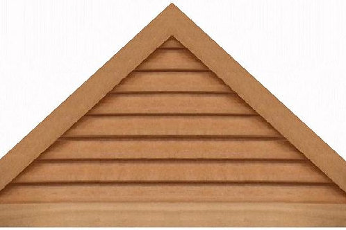 "GVP1154 - 54"" base 11/12 pitch Triangle Gable Vent"