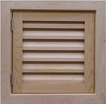 Wood Foundation Access doors, PVC Crawl Space Doors,Cedar, Wood, PVC