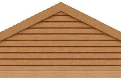 "GVP6120 - 120"" base 6/12 pitch Triangle Gable Vent"