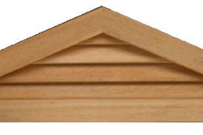"GVP472 - 72"" base 4/12 pitch Triangle Gable Vent"