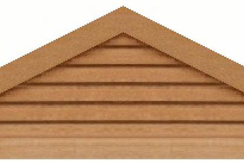 "GVP672 - 72"" base 6/12 pitch Triangle Gable Vent"