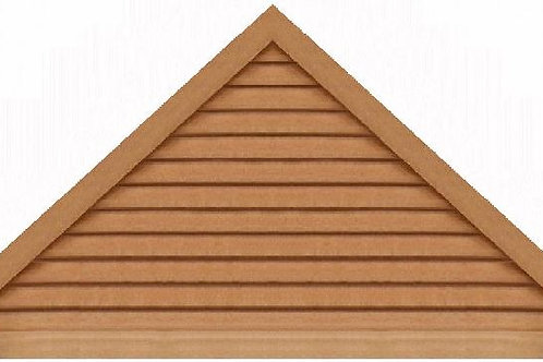 "GVP1184 - 84"" base 11/12 pitch Triangle Gable Vent"