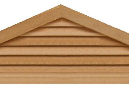 "GVP4120 - 120"" base 4/12 pitch Triangle Gable Vent"