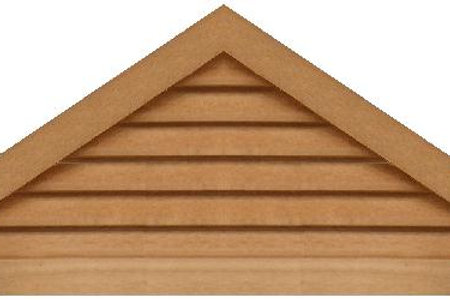 "GVP860 - 60"" base 8/12 pitch Triangle Gable Vent"