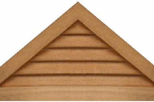 "GVP1042 - 42"" base 10/12 pitch Triangle Gable Vent"