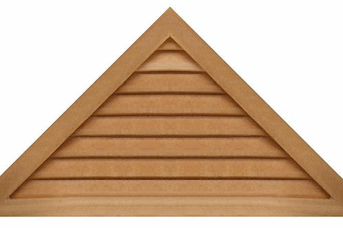"GVP1248 - 48"" base 12/12 pitch Triangle Gable Vent"