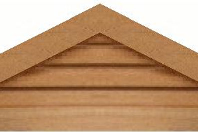 "GVP648 - 48"" base 6/12 pitch Triangle Gable Vent"