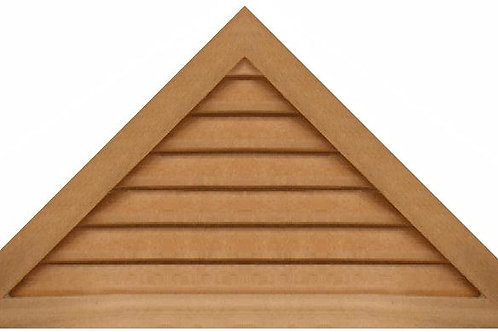"GVP1242 - 42"" base 12/12 pitch Triangle Gable Vent"
