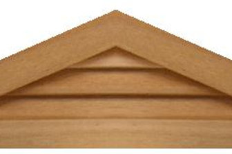 "GVP460 - 60"" base 4/12 pitch Triangle Gable Vent"