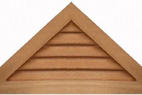 "GVP1136 - 36"" base 11/12 pitch Triangle Gable Vent"