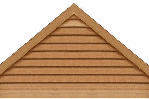 "GVP1072 - 72"" base 10/12 pitch Triangle Gable Vent"