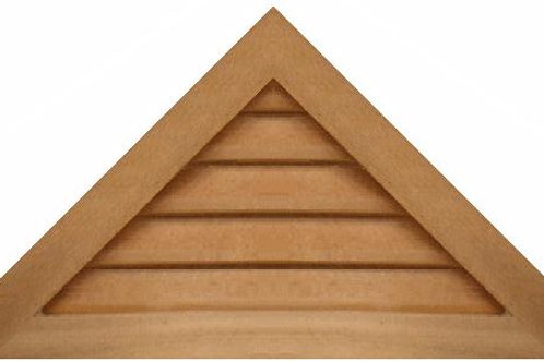 "GVP1230 - 30"" base 12/12 pitch Triangle Gable Vent"