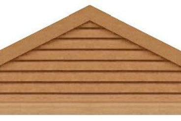 "GVP696 - 96"" base 6/12 pitch Triangle Gable Vent"