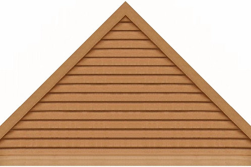 "GVP1296 - 96"" base 12/12 pitch Triangle Gable Vent"