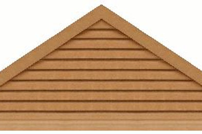 "GVP984 - 84"" base 9/12 pitch Triangle Gable Vent"