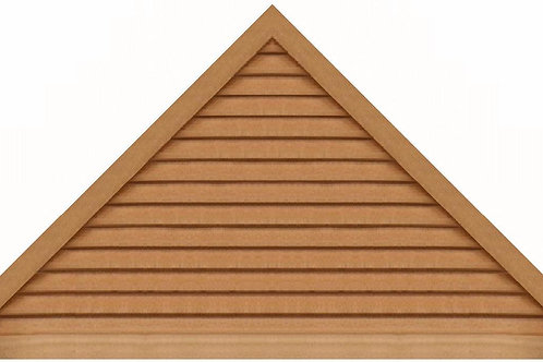 "GVP1284 - 84"" base 12/12 pitch Triangle Gable Vent"