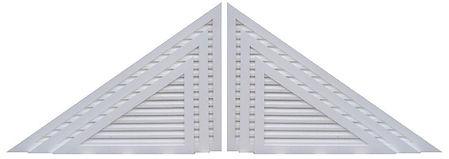 PVC Gable Vents, Shutters, Foundation Vents