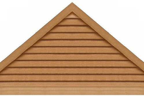 "GVP1084 - 84"" base 10/12 pitch Triangle Gable Vent"