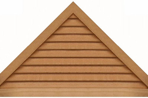 "GVP1260 - 60"" base 12/12 pitch Triangle Gable Vent"