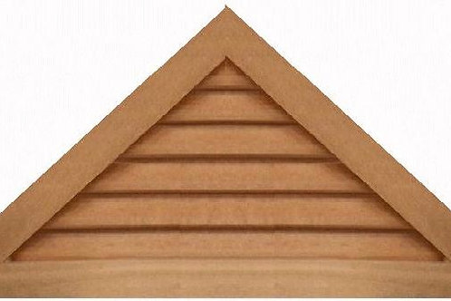 "GVP1142 - 42"" base 11/12 pitch Triangle Gable Vent"
